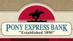 Pony Express Bank